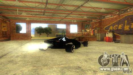 Lamborghini Concept für GTA San Andreas rechten Ansicht