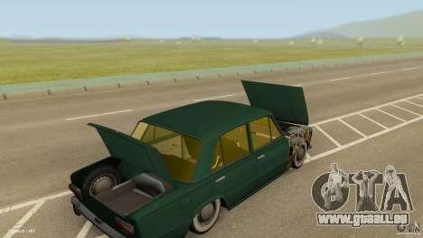 VAZ 2101 Low & Classic für GTA San Andreas Innenansicht