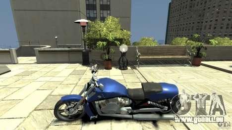 Harley Davidson VRSCF V-Rod pour GTA 4 est une gauche