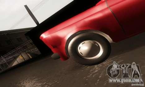 Zastava Skala 55 pour GTA San Andreas vue intérieure