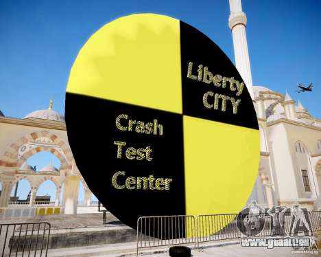 LC Crash Test Center pour GTA 4 secondes d'écran