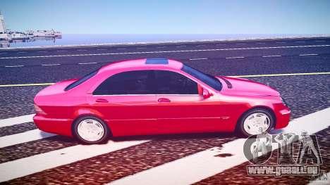 Mercedes-Benz S600 pour GTA 4 Vue arrière