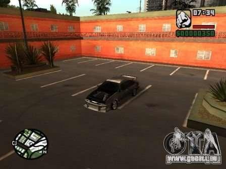 Ford Sierra Drift für GTA San Andreas Rückansicht
