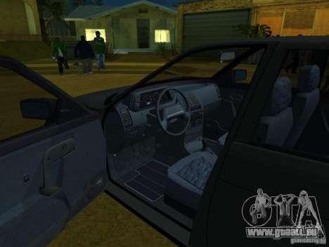 VAZ-2110 für GTA San Andreas Rückansicht