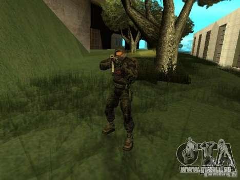 Mitglied der Auffassung von s.t.a.l.k.e.r. für GTA San Andreas dritten Screenshot