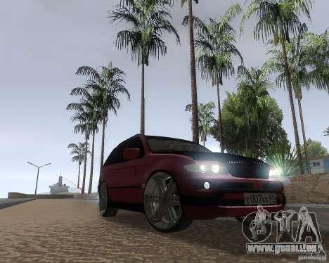 BMW X5 Sport Tun für GTA San Andreas