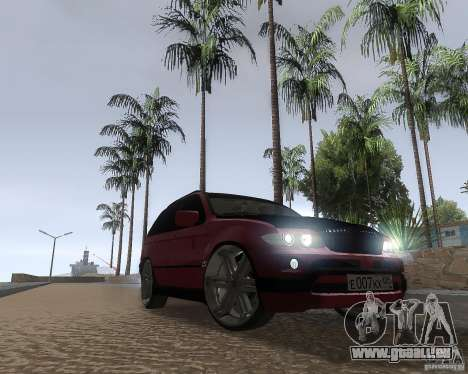 BMW X5 Sport Tun pour GTA San Andreas