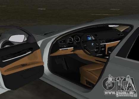 BMW 750 Li für GTA Vice City obere Ansicht