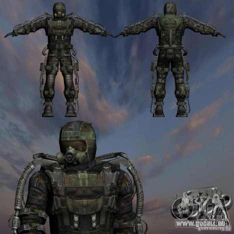 Stalker militaire en èkzoskelete pour GTA San Andreas