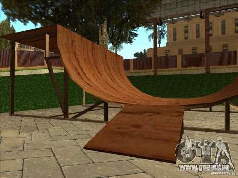 Karte für Parkour und bmx für GTA San Andreas zehnten Screenshot