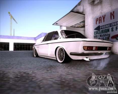 BMW 3.0 CSL Stunning 1971 pour GTA San Andreas vue de droite