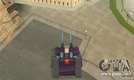 Tank RX-75-4 Guntank für GTA San Andreas rechten Ansicht