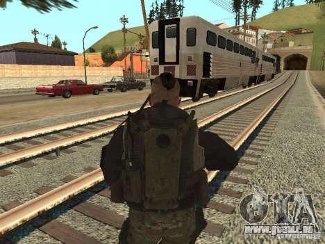 Captain MacTavish pour GTA San Andreas troisième écran