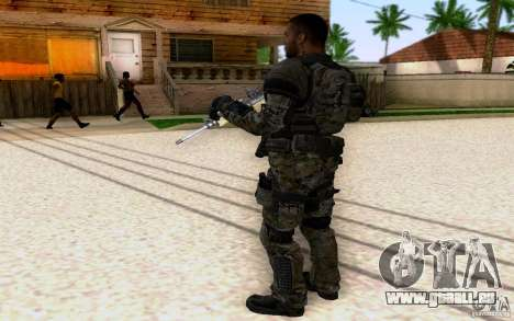 Salazar aus CoD: BO2 für GTA San Andreas dritten Screenshot