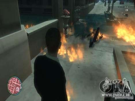 Intense Fire Mod pour GTA 4 troisième écran