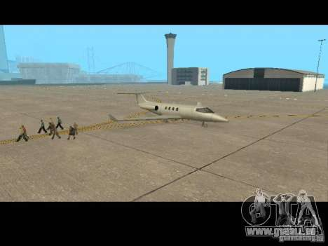 Job-pilot für GTA San Andreas fünften Screenshot