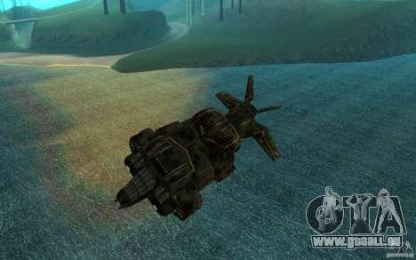 Das Shuttle aus dem Spiel Aliens Vs Predator 3 für GTA San Andreas