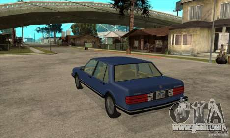 Pontiac Bonneville 1989 pour GTA San Andreas sur la vue arrière gauche