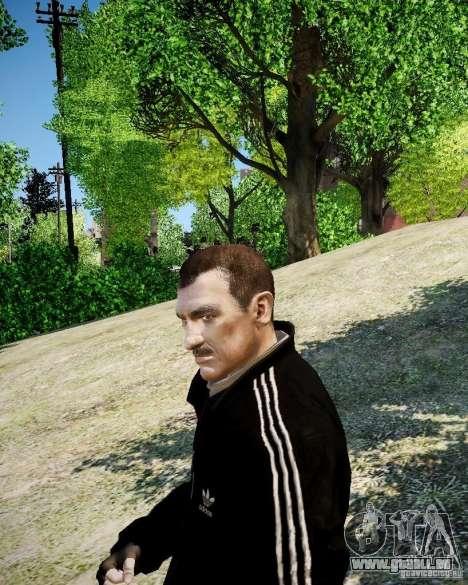 Old Niko pour GTA 4 secondes d'écran