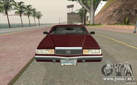 Chrysler Dynasty für GTA San Andreas rechten Ansicht