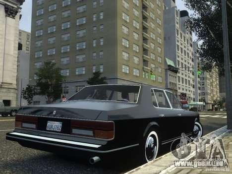 Rolls-Royce Silver Spirit 1990 pour GTA 4 est une gauche