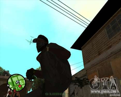 Splinter Cell Goggles Nachtsichtgerät für GTA San Andreas