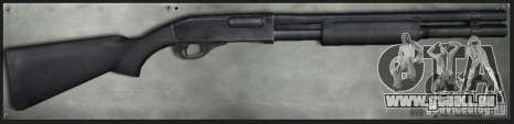 M870 Black für GTA San Andreas