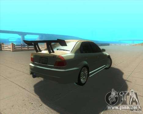 Mitsubishi Lancer Evolution VI 1999 Tunable pour GTA San Andreas