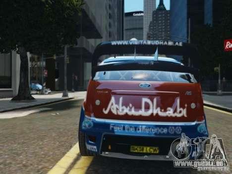 Ford Focus RS WRC für GTA 4 Innenansicht