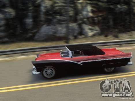 Ford Sunliner Custom 1956 pour GTA 4 Salon