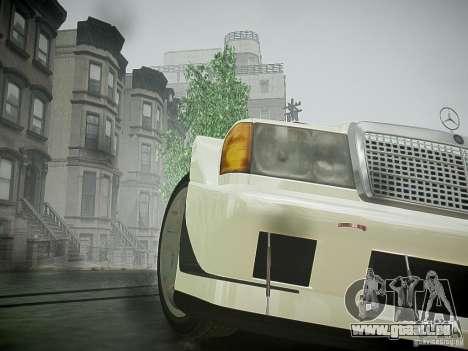 Mercedes 190E Evo2 pour GTA 4 Vue arrière