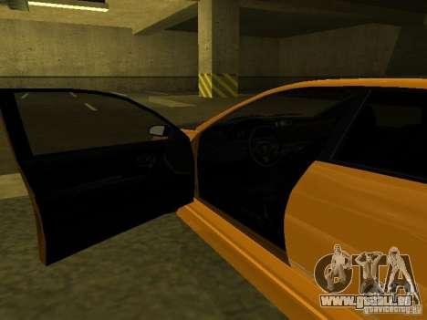 GTAIV Schafter Modded pour GTA San Andreas vue de côté