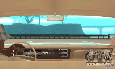 Chrysler New Yorker 4 Door Hardtop 1971 pour GTA San Andreas vue arrière