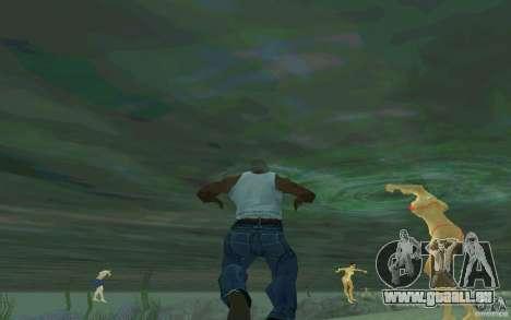 Les gens sont capables de nager pour GTA San Andreas deuxième écran
