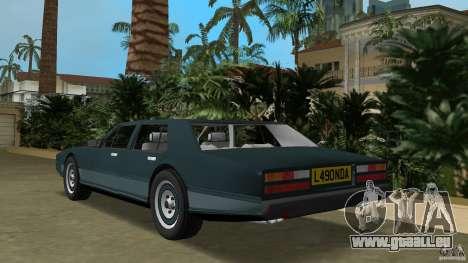 Aston Martin Lagonda (I) 5.3 (1976-1997) pour GTA Vice City sur la vue arrière gauche