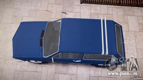 Volkswagen Brasilia pour GTA 4 est un côté