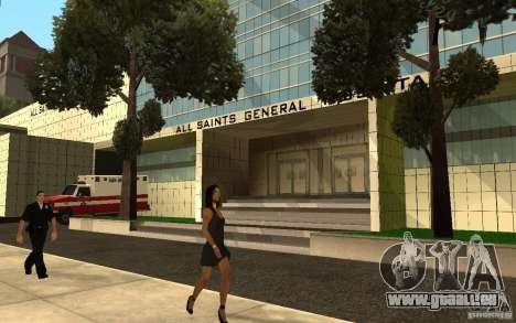 UGP Moscow New General Hospital für GTA San Andreas zweiten Screenshot