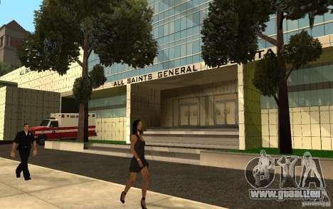 UGP Moscow New General Hospital pour GTA San Andreas deuxième écran