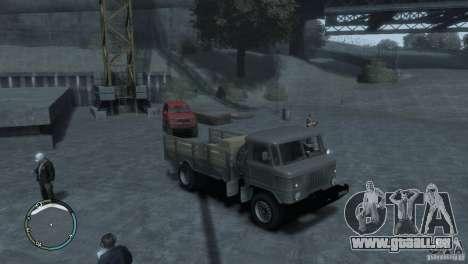 GAZ 66 pour GTA 4 est une gauche