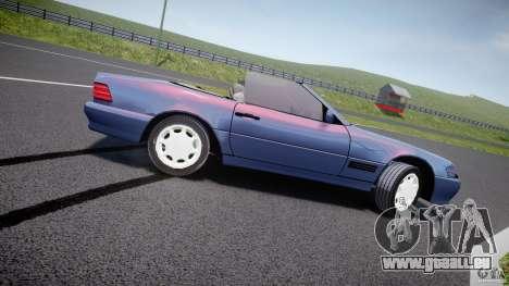 Mercedes-Benz SL500 pour GTA 4 est une gauche