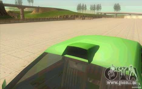 Mad Drivers New Tuning Parts pour GTA San Andreas troisième écran