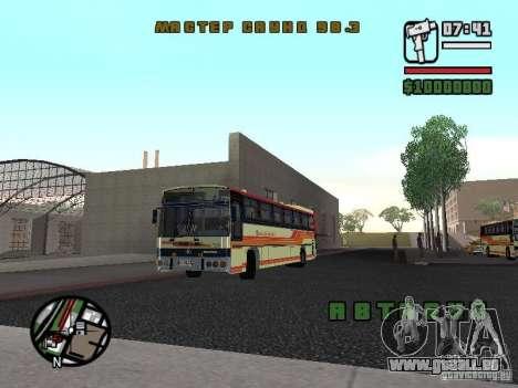 MARCOPOLO III SCANIA 112 für GTA San Andreas linke Ansicht