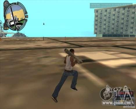 S.T.A.L.K.E.R. Call of Pripyat HUD for SA v1.0 für GTA San Andreas sechsten Screenshot