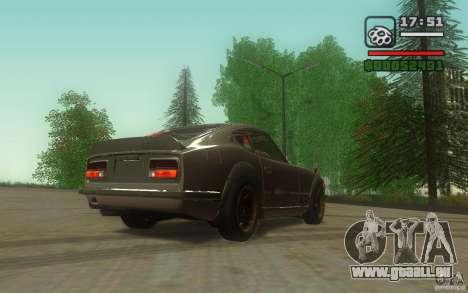 Datsun 240ZG pour GTA San Andreas vue de droite