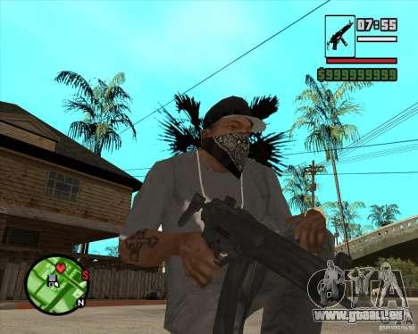 MP5 für GTA San Andreas