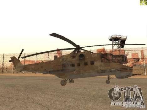 Mi-24p Desert Camo für GTA San Andreas