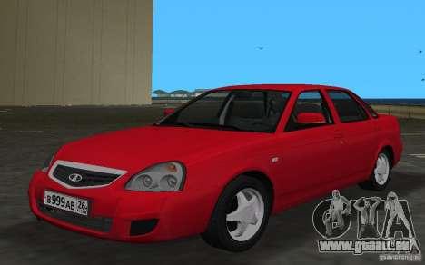 Lada 2170 Priora pour GTA Vice City vue latérale