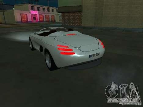 Ford Mustang 1993 pour GTA San Andreas sur la vue arrière gauche