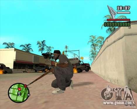 K98 pour GTA San Andreas troisième écran
