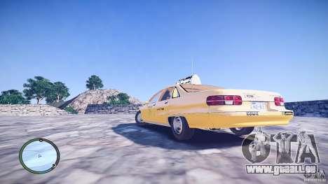 Chevrolet Caprice Taxi pour GTA 4 est une gauche